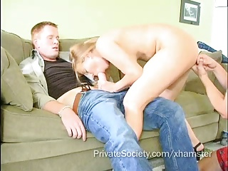 Cuckold Queen: Slut Wife Gets Pounded By Two Studs