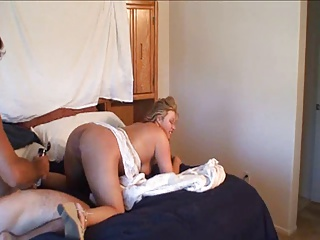 Slut Zoey Is Tag Teamed And Treated Like A Whore!
