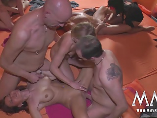 MMVFilms German Men Sharing Their Wifes At A Party