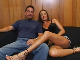 Hubby Brings Stranger To Fuck His Sexy Wife And Joins In