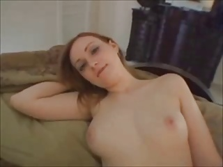 Amateur Round Ass Redhead Gets Fucked