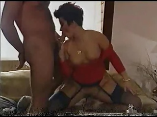 Short Hair Lady In Swingers Trap