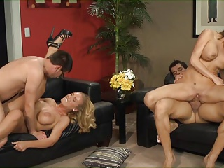 Madelyn Marie And Nicole Aniston (Swinging)