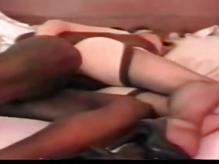 Retro Wife Shared With A Black Man