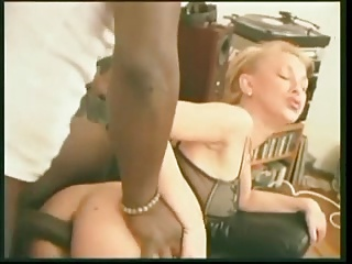 Black Anal For Blonde Wife